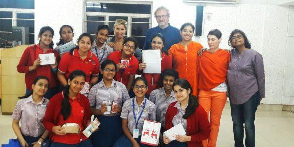 Indien2016-Die Deutsch-AG der MHS.