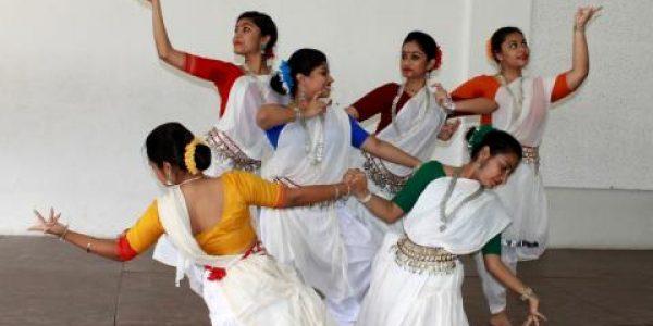 Tanzgruppe des 9./10. Jahrgangs
