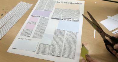 Redaktion im Endspurt – Kinderumweltzeitung 2018
