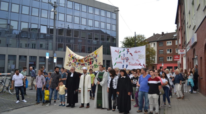 Interreligiöser Pilgerweg 2018 in Gelsenkirchen