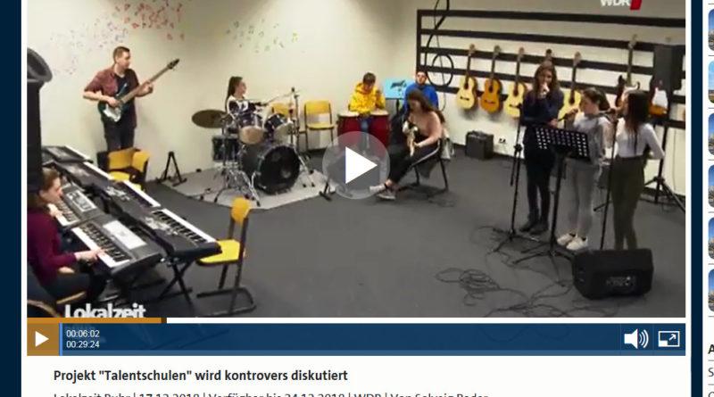 Presseschau: Talentschulbewerbung in der Lokalzeit