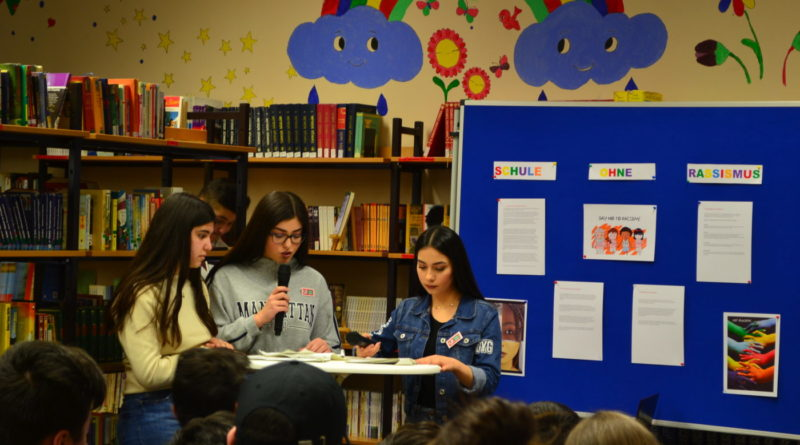 """Bekanntmachung des Projekts """"Schule ohne Rassismus – Schule mit Courage"""""""