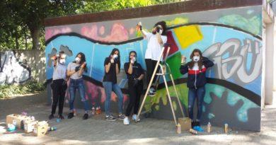 """""""Glückauf Ückendorf"""" – das Graffiti-Projekt der GSÜ"""