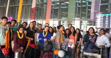 Kolkata 2019 – der Austausch beginnt
