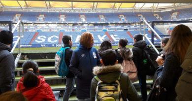 Glück auf! IFÖ A1 war auf Schalke