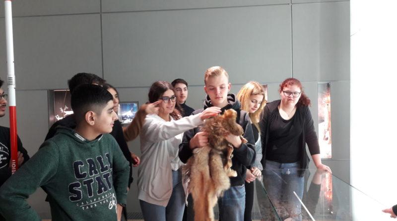 Klassenausflug ins Archäologische Museum in Herne